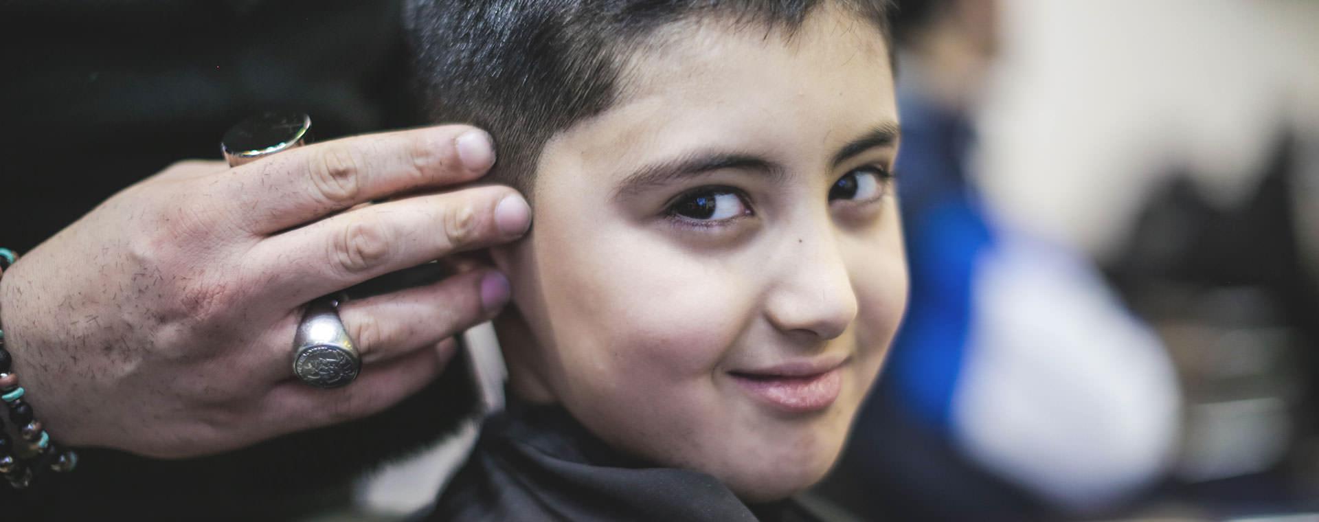barber enfant